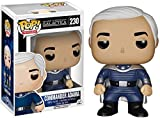 Commander Adama: Funko POP! x Battlestar Galactica Vinyl Figure + 1 FREE American TV Themed Trading Card Bundle [51259]