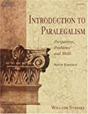 img - for Introduction to Paralegalism: Perspectives, Problems, and Skills, 6E book / textbook / text book