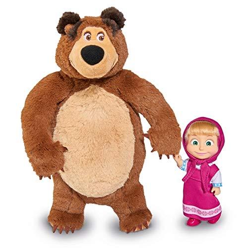Masha and the Bear 109301072 Dolls, Nylon/A from Masha and the Bear