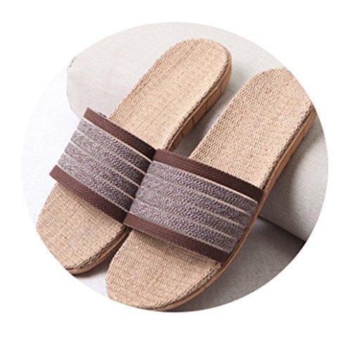 W6LDiJLddl Shoes Slippers Beach 22 Woman Bedroom 10 Color Plus Size Indoor Gradient Flat PrqE4BPw