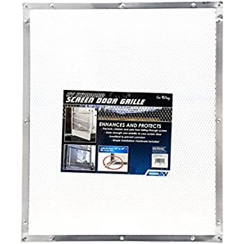 Amazon Com Camco 43981 Aluminum Screen Door Standard Mesh