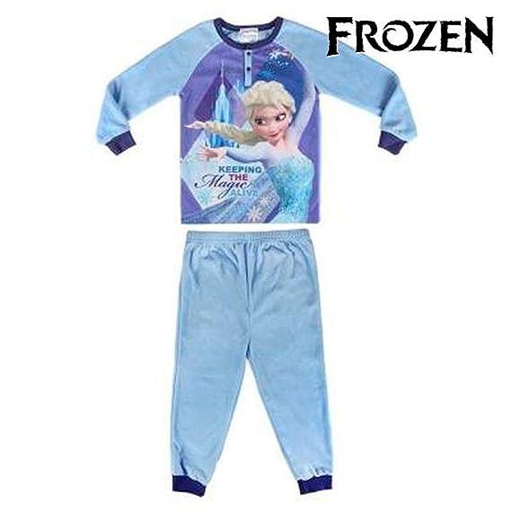 ea3f7ee590 Pijama Polar Frozen Disney 100% poliester (5-6)  Amazon.es  Ropa y ...
