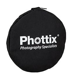 Phottix 5-in-1 Premium Reflector with Handles 119cm (PH86498)