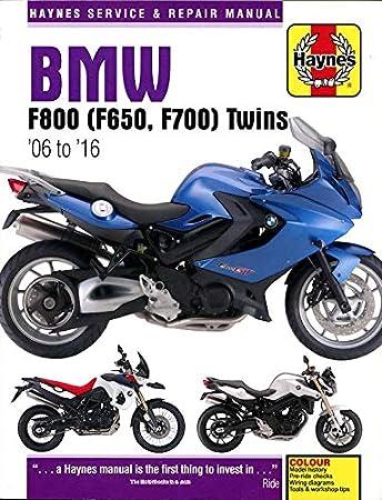 2006-2016 BMW F 650 700 800 F650 F700 F800 S ST GS GT R HAYNES REPAIR on