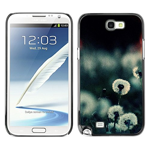 Soft Silicone Rubber Case Hard Cover Protective Accessory Compatible with SAMSUNG GALAXY NOTE 2 & N7100 - Plant Nature Forrest Flower 20