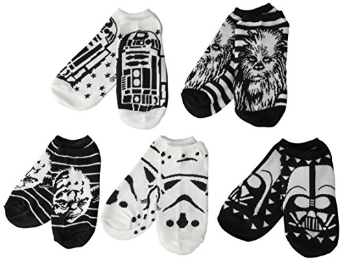 Star Wars Women's 5-pack No Show Socks