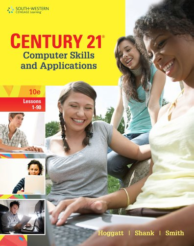 Century 21 Computer Skills and Applications, Lessons 1-90 (Century 21 Keyboarding) Pdf