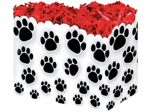 [해외]1 큰 PAW 인쇄 동물 개 강아지 선물 바구니 상자 10-1 4 X 6 X 7-1 2/1 Large PAW Prints Animal Dog Puppy Gift Basket Box 10-1 4 X 6 X 7-1 2