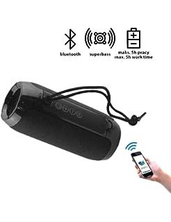 Unico - Altavoz Bluetooth 5,0 Radio FM, Altavoces Bluetooth ...