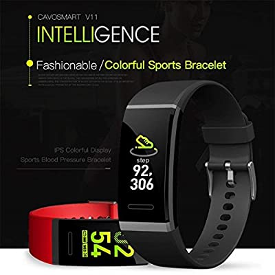 Fitness Tracker Activity Tracker Watch Heart Rate Blood Pressure Monitor Bluetooth Smart Watch