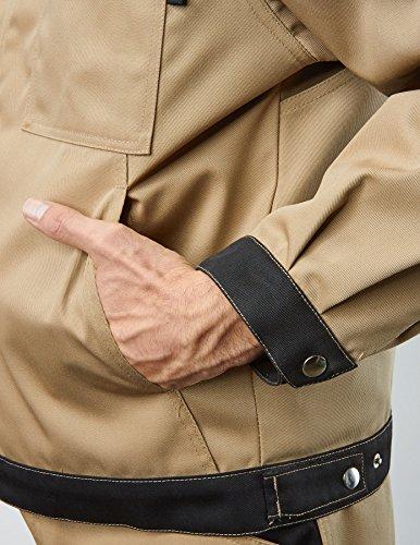 """Pionier ® workwear Herren Jacke 2-farbig """"Top Cotton Image"""" schwarz/grau,Größe S"""