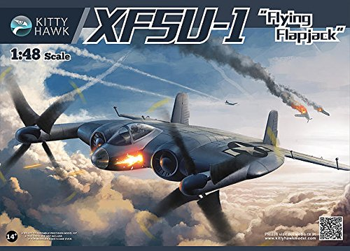KTH80135 1:48 Kitty Hawk XF5U-1 Flying Flapjack [MODEL BUILDING ()