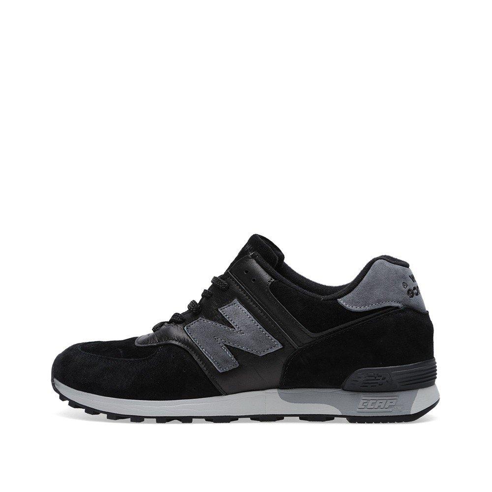 d290e26433fcf Amazon.com | New Balance 576 Men's Shoes Black/Grey M576PLK | Fashion  Sneakers