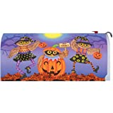 Custom Decor Mailbox Makeover-Halloween Owls