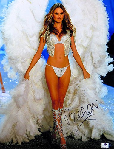 Behati Prinsloo Signed Autographed 11X14 Photo Victorias Secret Angel Gv816412