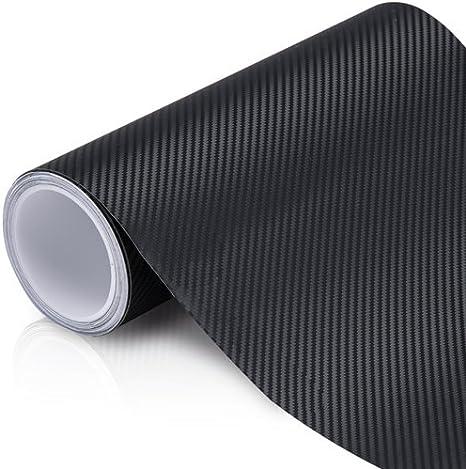 A4 Sheet 4d Matte Black Carbon Fibre Fiber Vinyl Car Wrap 6d 5d Auto