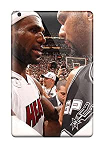 [DaBDiWj1938ChDoJ]premium Phone Case For Ipad Mini/mini 2/ San Antonio Spurs Basketball Nba Miami Heat Tpu Case Cover