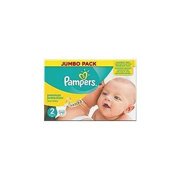 Pampers Nuevo Tamaño Del Bebé Pack 2 (Mini) Jumbo 70 Pañales: Amazon.es: Salud y cuidado personal