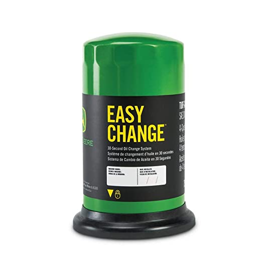 John Deere Easy Change 30-Second Oil Change System: Amazon.es: Jardín
