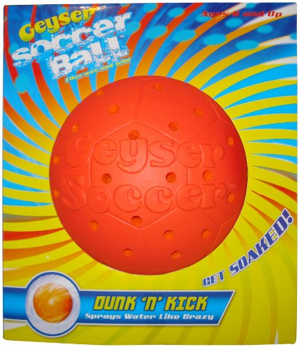 Geyser Guys Geyser Soccer Ball colors may vary