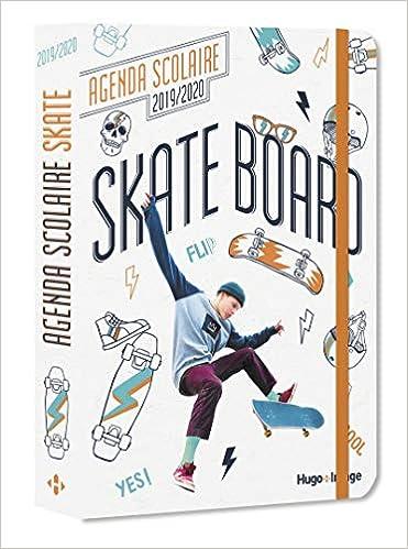 Agenda scolaire Skate Board: 9782755641264: Amazon.com: Books