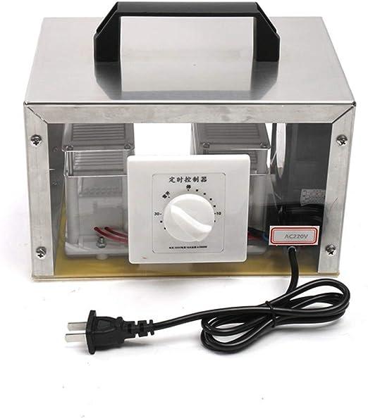 GXHGRASS Generador De Ozono Comercial, 35000Mg / H O3 Purificador ...