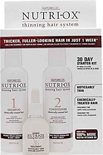 Noticeably Thin (Zotos Nutri-Ox Noticeably Thin Color Treated Hair Starter Kit)