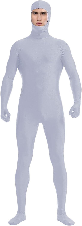 WOLF UNITARD Face Open Zentai Tights Bodysuit