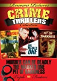 DVD : Renown Pictures Crime Thriller Collection: Pit Of Darkness + The Marked One + Murder Can Be Deadly