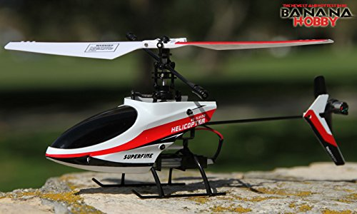 XIEDA 9958 2.4GHZ 4CH RC SINGLE BLADE HELICOPTER RTF
