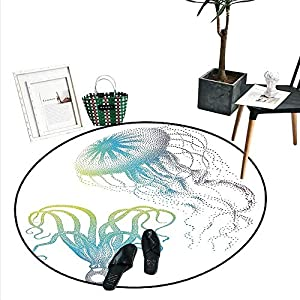 51HkHyAjywL._SS300_ 50+ Octopus Rugs and Octopus Area Rugs