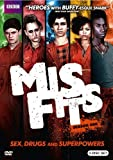 Misfits Season One by BBC Home Entertainment by Tom Harper, China Moo-Young Tom Green