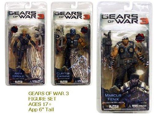 Gears Of War Costume Armor (Neca - Gears of War 3 Series 1 Action Figure Case 18 cm (14))