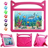 iPad Mini kids Case, iPad Mini 2 Case, iPad Mini 3 Case, iPad Mini 4 Case - YooNow Kids Shock Proof Handle Friendly Convertible Stand Protective Cover for iPad Mini 4 3 2 1 Tablet 7.9 inch (Rose)