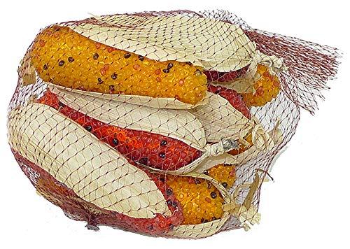 - Liberty Artificial Ornamental Colored Corn - Fall Harvest Decor - 9 cobs/bag