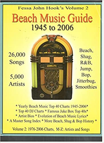 Fessa John Hooks Volume 2 Beach Music Guide 1945 To 2006 Fessa