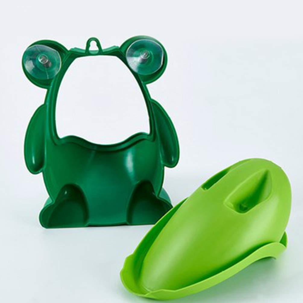 Hongma Urinoir De Toilette Pour Enfants Grenouille Design Cible Tourbillonnante Avec