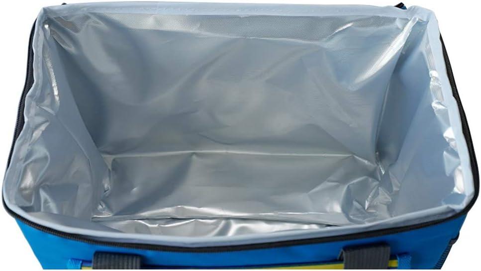 GYZ Il Pranzo Cooler Bag Auto Portatile Frigorifero Esterni Picnic Grande capacità di Isolamento Pacchetto, 2 Colori Possono Scegliere Pranzo Tote (Color : A) B
