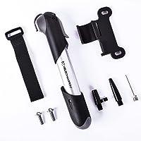 VeloChampion Alloy 7 Mini-fietspomp - geschikt voor Presta & Schrader (omkeerventiel) met maximale druk van 6,9 bar (100…