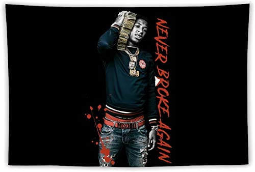 Youngboy Wall Hanging Tapestry,Beach Blanket Tapestry Never Broke Again Dorm Decor For Home