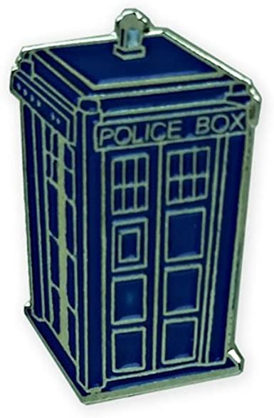 Doctor Who TARDIS Pin, blue, 1
