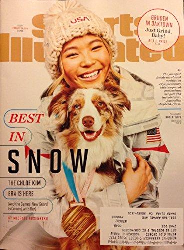 Sports Illustrated Magazine (February 26, 2018) Chloe Kim Cover