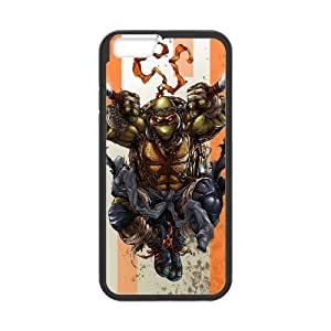 FOR Apple Iphone 6 Plus 5.5 inch screen Cases -(DXJ PHONE CASE)-Teenage Mutant Ninja Turtles-PATTERN 19