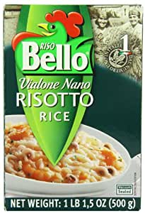 Amazon.com : Riso Bello Vialone Nano Risotto Rice, 1 pound