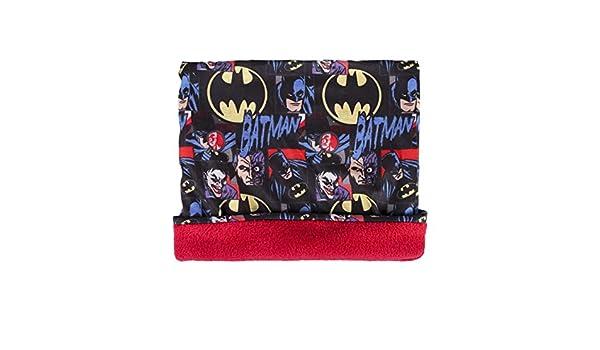 Bufanda Multiusos Batman Joker DC Comics con Forro Polar Bandana con dise/ño de Dibujos Animados Invierno takestop/®