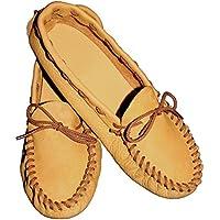Realeather Crafts Realeather Moccasin Kit, Size 12/13, Golden Brown
