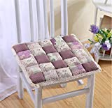 Aidou Korean Garden Table Chair mat car mats seat Office Student stools Padded Winter, b Cushion for Lower Back,