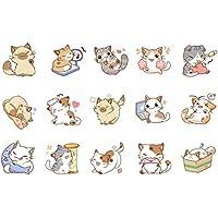 Sungpunet Mi Diario Gato Pegatinas Adhesivas Decorativa Japonesa