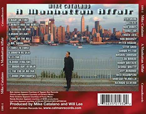 Manhattan Affair: Mike Catalano: Amazon.es: Música