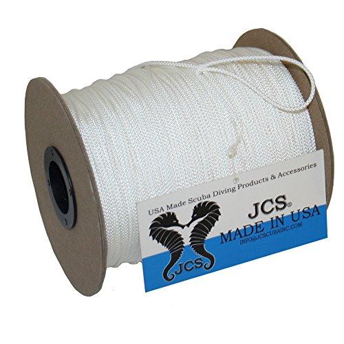JCS No.24 Braided Polyester Dacron Reel Line, 1 LB Spool, 656 Feet 200 Meters , 3 Popular Colors